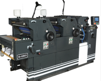 Offset Printing Machine with 2 Colors